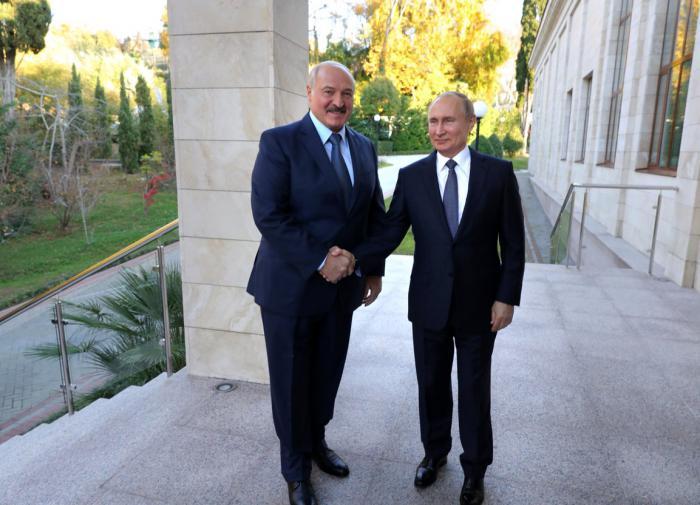 Путин и Лукашенко обсудили ситуацию с задержанием россиян под Минском