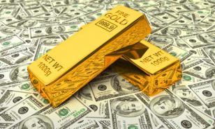Золотой резерв России превысил долларовые запасы