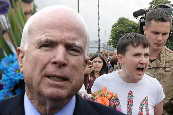 """Сенатор Маккейн: """"Надя не хочет, чтобы с России сняли санкции"""""""