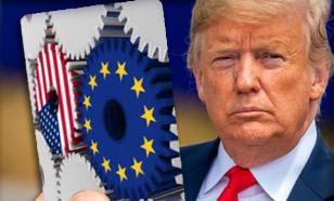 Трампу показали выгоду торговли с ЕС на простых карточках