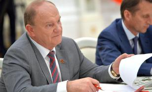 """Зюганов назвал вымирание русских """"трагедией планетарного масштаба"""""""