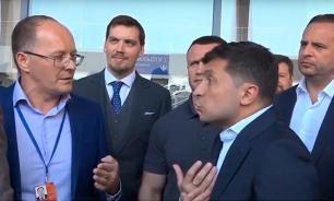 Зеленский поскандалил с директором аэропорта в Николаеве