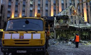 Очередной самострой снесли в центре Москвы