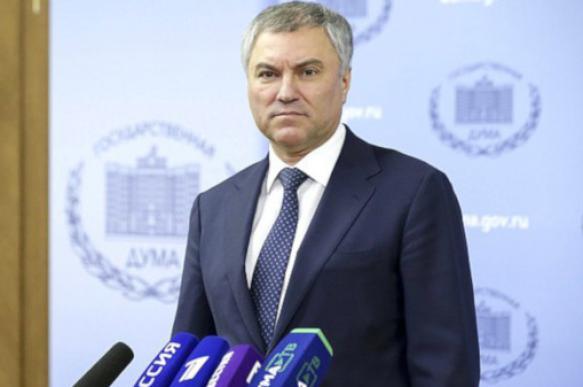 Володин призвал Госдуму внимательнее читать законопроекты