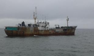 Украина протестует против задержания браконьерского судна