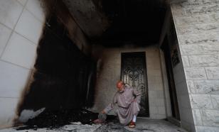 Палестино-израильский конфликт накалился: едва не сгорела мечеть