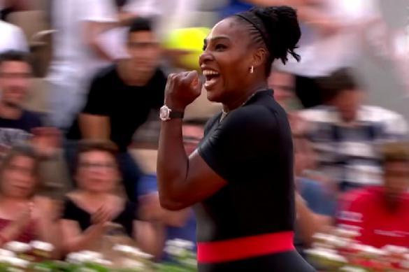 """Серена Уильямс не берет дочь на матчи, потому что она """"надоедливая"""""""