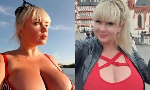 Украинская модель с 13-м размером груди собирается стать боксером