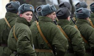 Российская армия снижает потребность в срочниках