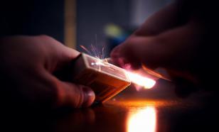 Предприниматель пытался поджечь дом своего бухгалтера