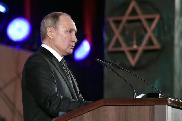 Путин напомнил о европейских пособниках преступлений нацистов