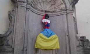 """Брюссельского """"пис-мальчика"""" переодели в украинский костюм. Результат всех изумил"""