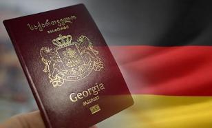 В Германии потребовали отобрать безвиз у Грузии