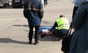 В Троицке автомобиль ДПС сбил пешехода во время погони за нарушителем