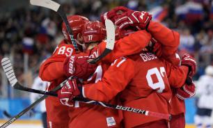 Молодежная хоккейная команда РФ вышла в полуфинал чемпионата мира