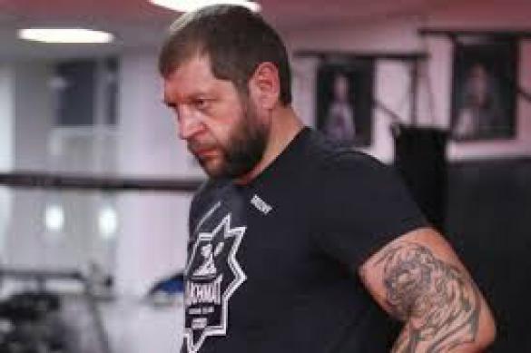 Александр Емельяненко упал с велосипеда и отменил свой бой