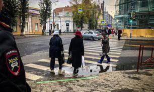 В Иркутске установили светофор для зависимых от гаджетов пешеходов