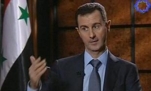 Башар Асад: Западу не удалось совершить переворот в Сирии