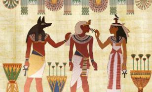 Древние египтяне представляли небо в виде железной миски с водой