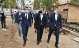 В Балашихе возобновили строительство пристройки к школе №8