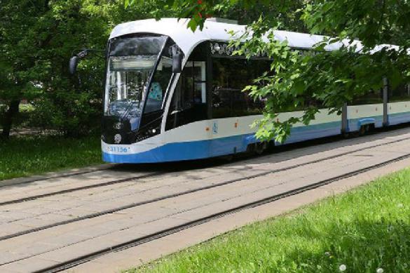 В Москве встанут на маршруты беспилотные трамваи
