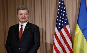 Порошенко выразил глубокую признательность США за новые санкции против России