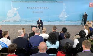 На Украине выразили недовольство приездом Путина в Крым