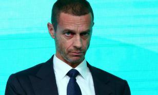 Глава УЕФА пригрозил лигам исключением за досрочное завершение