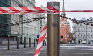 Утром воскресения в Москве резко вырос индекс самоизоляции