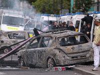 Лондонские беспорядки перекинулись на другие города.