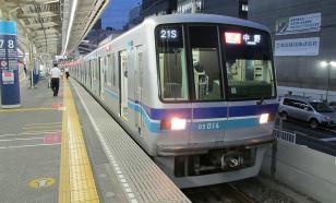 На станции токийского метрополитена обнаружен сильный дым