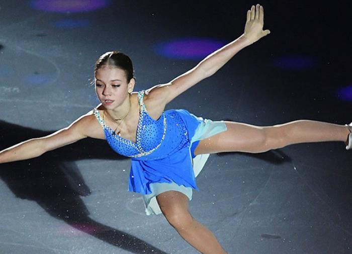 Трусова поблагодарила Плющенко за победу на этапе Кубка России
