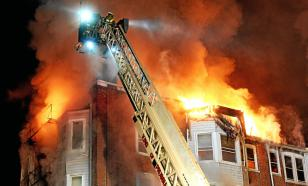 Питерские пожарные потрудились недаром и дружно справились с пожаром