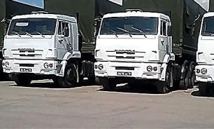 Колонна с гуманитарной помощью 30 июля отправилась в Донецк и Луганск