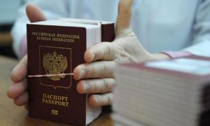 Уже 125 тыс. жителей Донбасса получили паспорта РФ