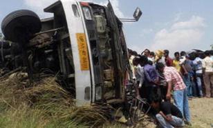 Смертельное ДТП произошло в Индии, есть погибшие