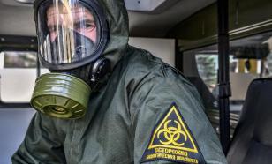 Войсками РХБЗ ЗВО развернуты пункты обработки на полигонах