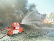 Роботы-танки не боятся огня да полымя