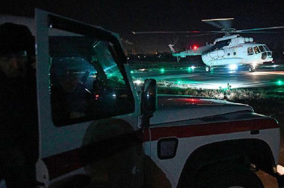 Врачи спасли ребенка беременной пассажирки перевернувшегося автобуса