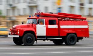 В Екатеринбурге загорелось несколько дачных домов