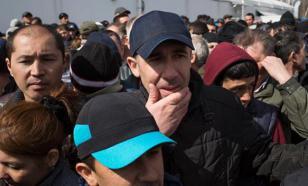Полиция: Мигранты, у которых отнимают последнее, - миф