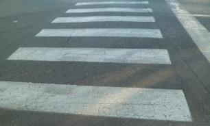 Нарушитель со стажем сбил двух человек на переходе в Челябинске