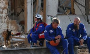 Российский спасатель рассказал о разборе завалов в Бейруте