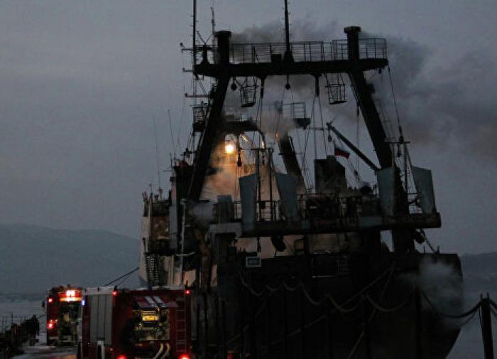 На траулере Polaris в Баренцевом море отказал основной двигатель