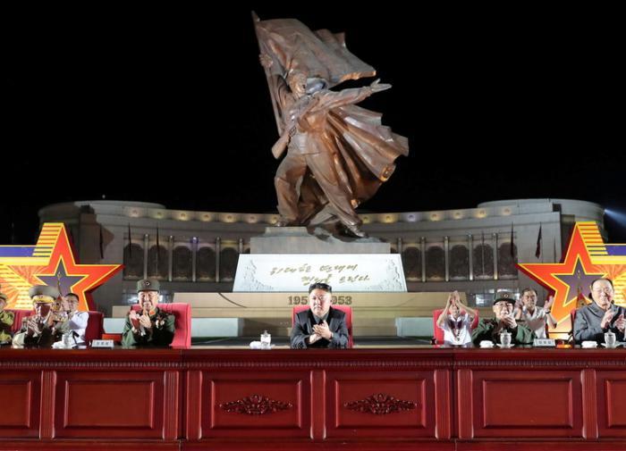 Ким Чен Ын: ситуация сегодня не менее сложная, чем во время Корейской войны
