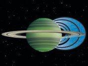 Сатурн отбирает воду у своих колец