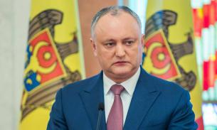 Президент Додон может распустить новый парламент Молдавии