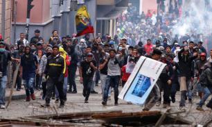 Бунтующих из-за реформ эквадорцев официально объявили террористами