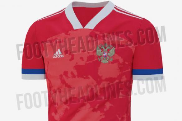 Опубликован эскиз формы сборной России на Евро-2020
