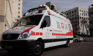Автомобиль совершил наезд на группу пешеходов в Иерусалиме ВИДЕО